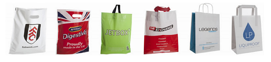 We offer  range of printed carrier bags for your business