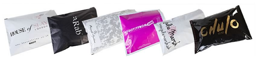 We offer  range of printed mailing bags for your business
