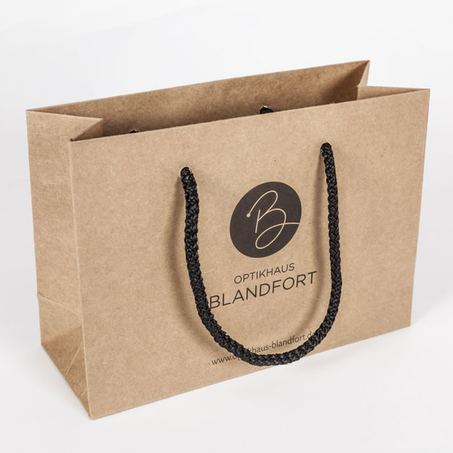 Luxury Kraft Gift Bag with Extended Handle