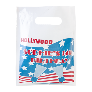 Printed Plastic Carrier Bag