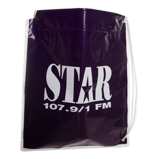 Logo Printed Duffle Carrier Bag