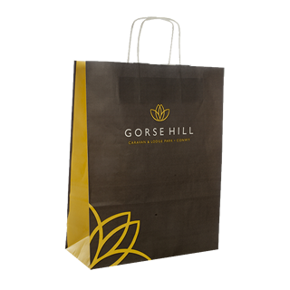 Full Colour Paper Carrier Bag
