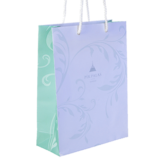 Full Print Luxury Rope Handled Bag