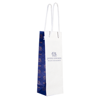 Luxury Wine Carrier Bag