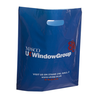 Two Colour Polythene Carrier Bag