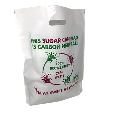 New Sugar Cane Printed Carrier Bag